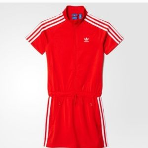 Adidas Big Girls Firebird Dress Size M